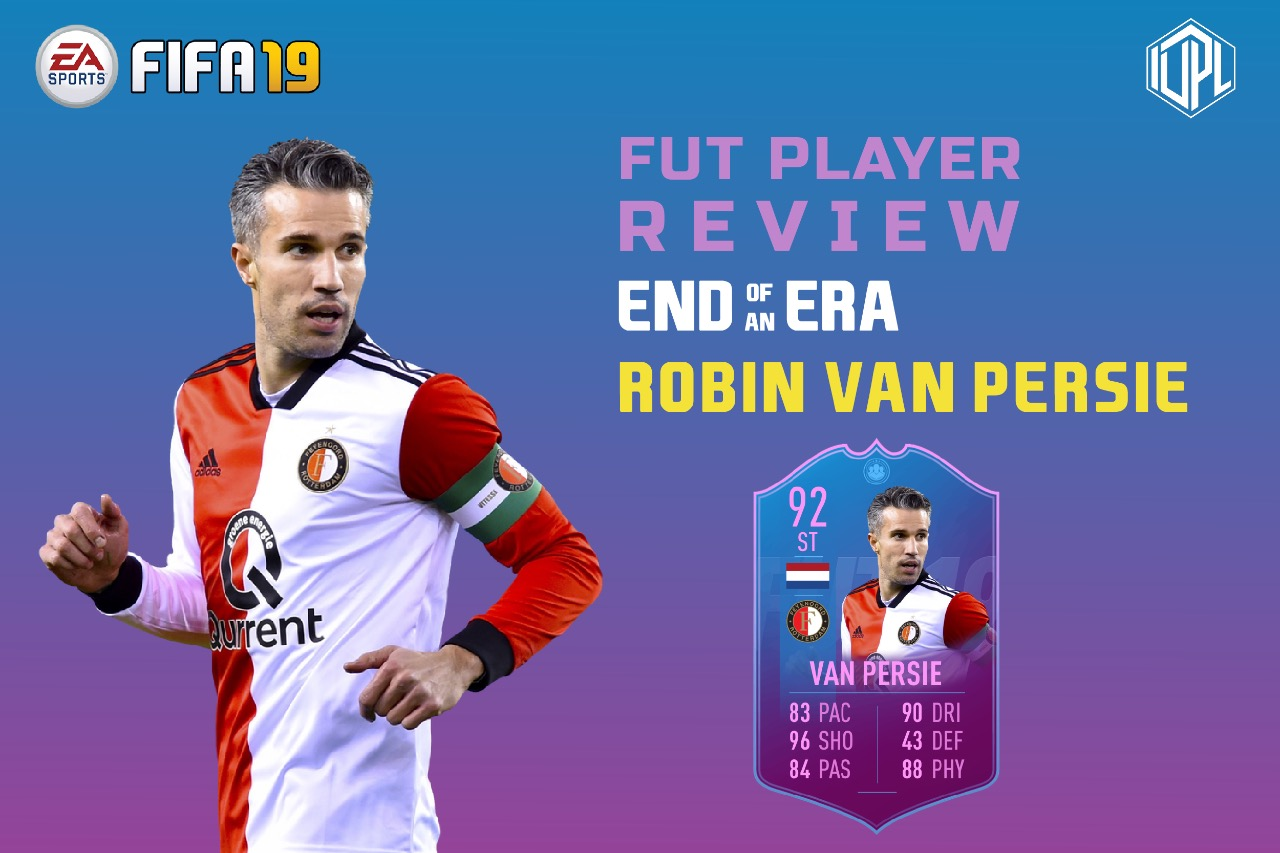 End of An Era Robin Van Persie