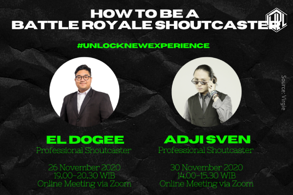 How to be a Battle Royale Shoutcaster